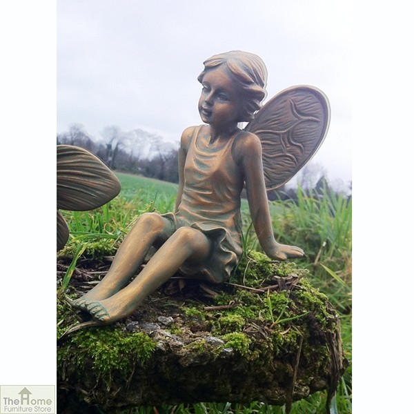 Girl Fairy Garden Ornament
