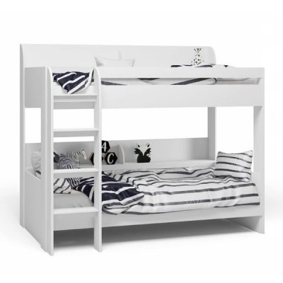White Bunk Bed_2