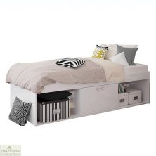 White Single Cabin Bed