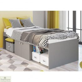 Grey Single Cabin Bed_1