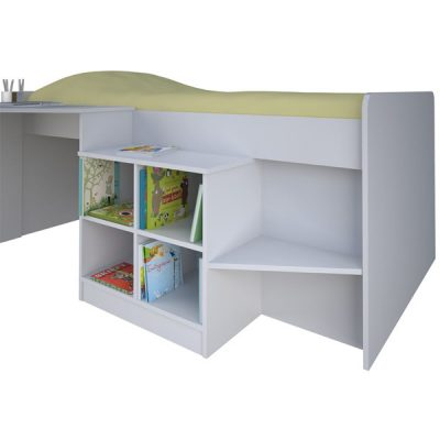 White Cabin Bed_2