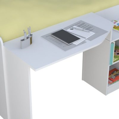 White Cabin Bed_4
