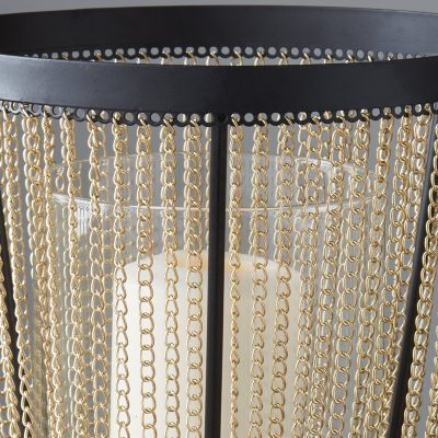 Gold Chain Large Candle Holder_2