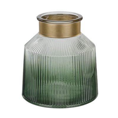 Verde Gold Trim Plant Holder_3