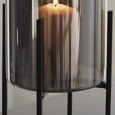Glass Stand Pillar Candle Holder_2