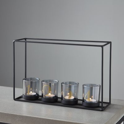 4 Glass Candle Holder Frame_1