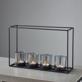 4 Glass Candle Holder Frame_1