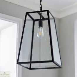 Glass Lantern Pendant Light _1