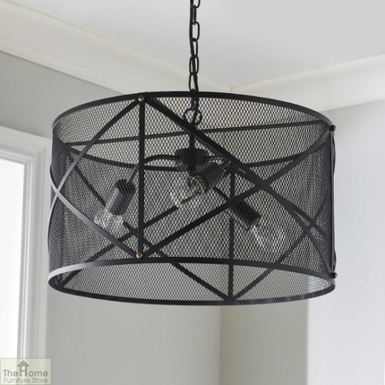Industrial Black Ceiling Pendant Light_1