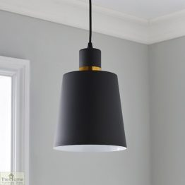 Black Gold Ceiling Light_1