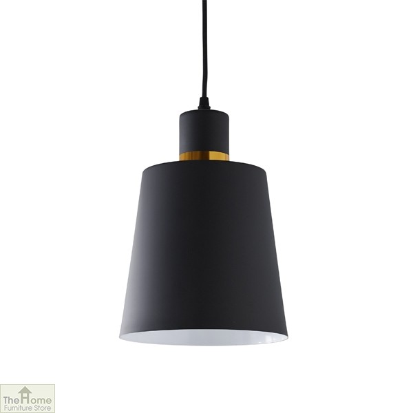Black Gold Ceiling Light