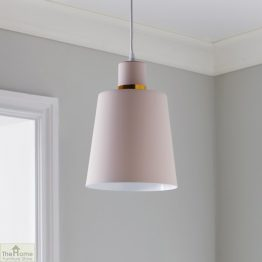 Pink Gold Ceiling Light