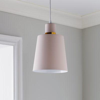 Pink Gold Ceiling Light_1
