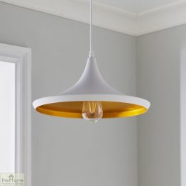 White Pendant Light_1