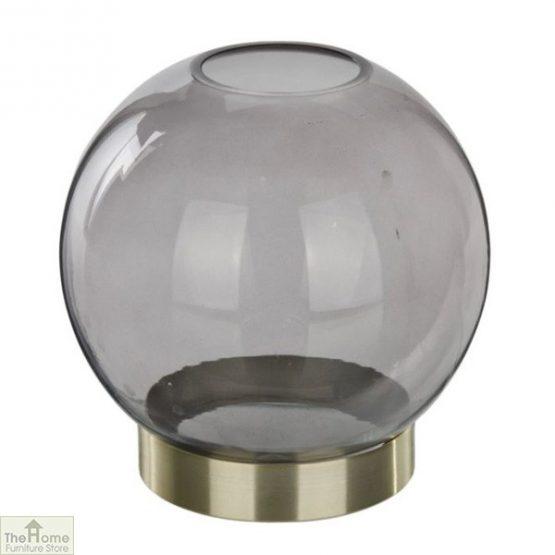 Globe Glass Plant Holder