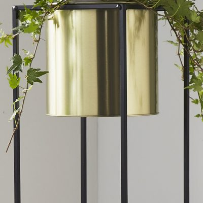 Gold Large Plant Holder Stand_2
