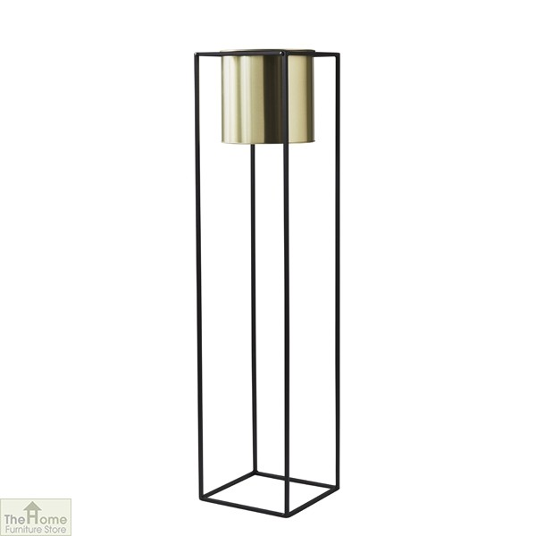Gold Large Plant Holder Stand