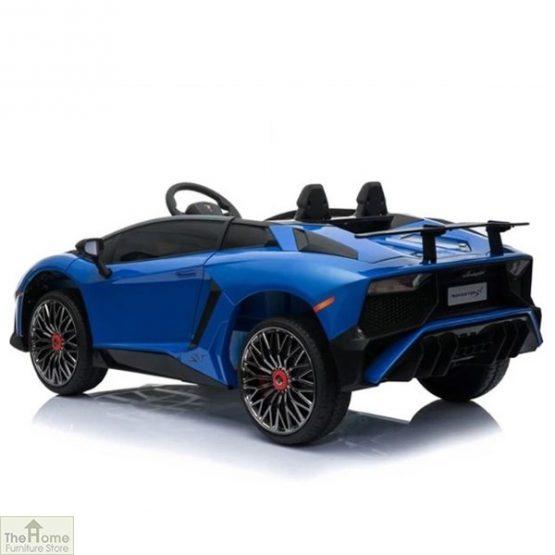 Lamborghini Aventador SV 12V Ride On Car_14