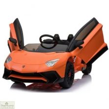 Lamborghini Aventador SV 12V Ride On Car – Orange