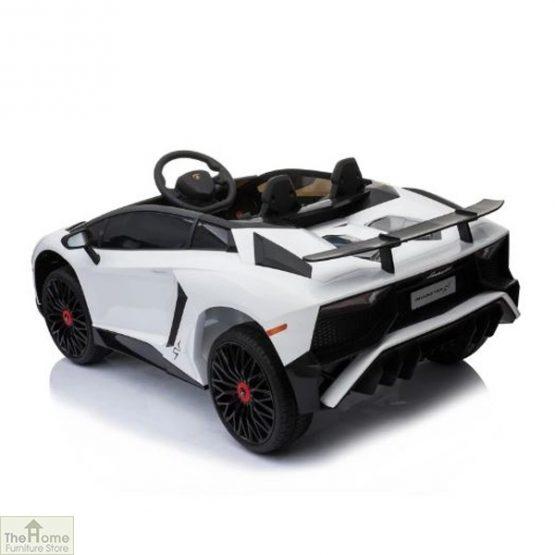 Lamborghini Aventador SV 12V Ride On Car_5