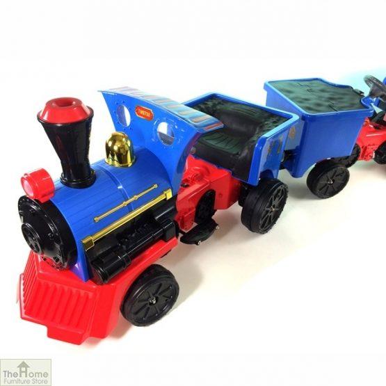 12v Ride On Train Pedal Coal Truck_4