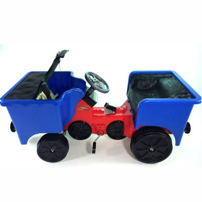 12v Ride On Train Pedal Coal Truck_6