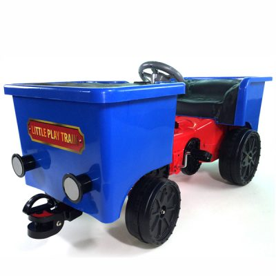 12v Ride On Train Pedal Coal Truck_7