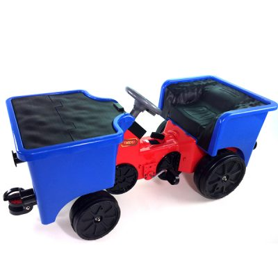 12v Ride On Train Pedal Coal Truck_5