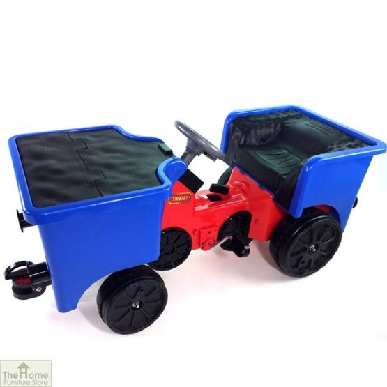 12v Ride On Train Pedal Coal Truck_5