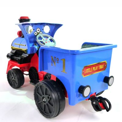 12v Ride On Train Pedal Coal Truck_3