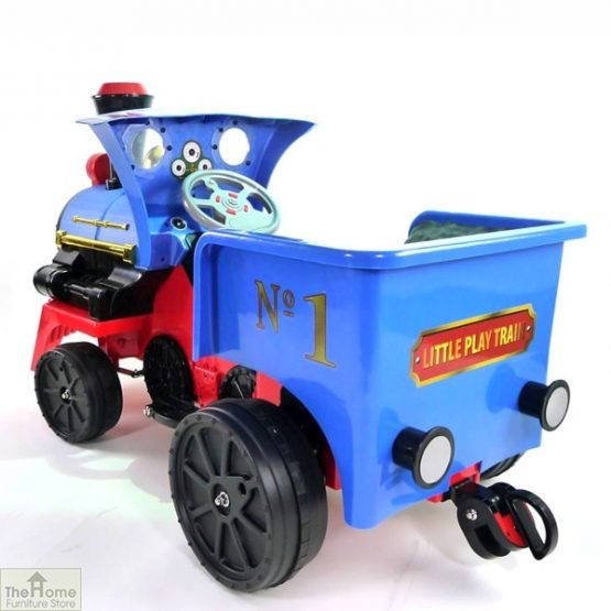 12v Ride On Train Pedal Coal Truck_3