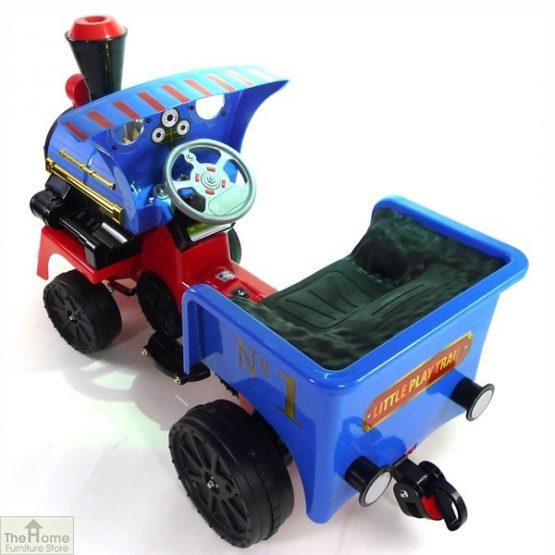 12v Ride On Train Pedal Coal Truck_2