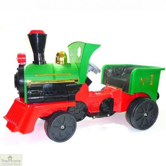 12v Ride On Train Pedal Coal Truck_8