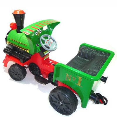 12v Ride On Train Pedal Coal Truck_9
