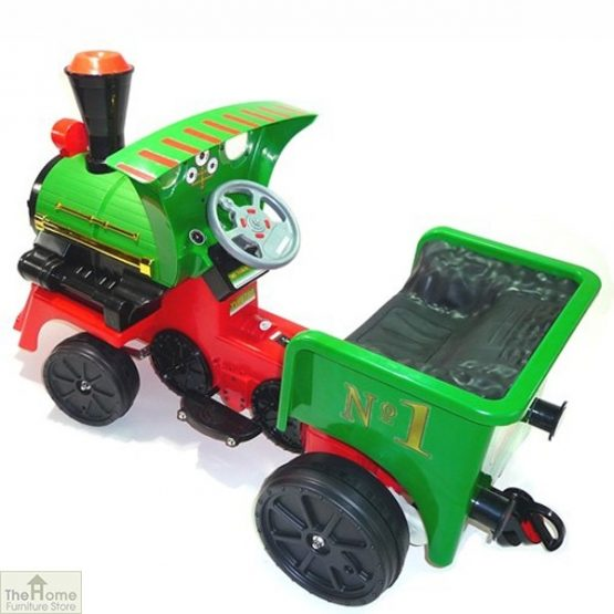 12v Ride On Train Pedal Coal Truck_9