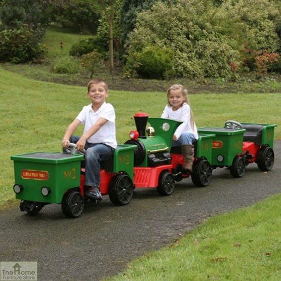 12v Ride On Train Pedal Coal Truck_10