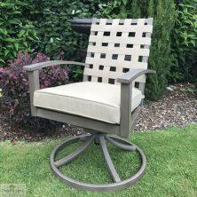 Encore Garden Swivel Armchair