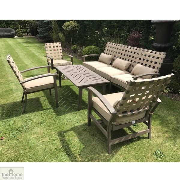 Encore Garden 3 Seater Sofa Outdoor, All Weather Outdoor Furniture