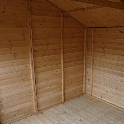 12 x 10 Pressure Treated Wood Workshop_4
