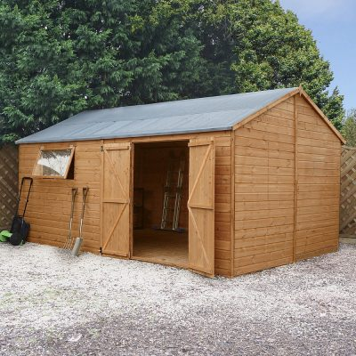 16 x 10 Pressure Treated Wood Workshop_2