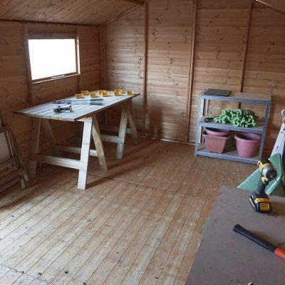 16 x 10 Pressure Treated Wood Workshop_3