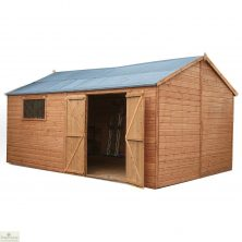16 x 10 Pressure Treated Wood Workshop