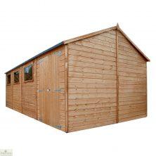 20 x 10 Pressure Treated Wood Workshop