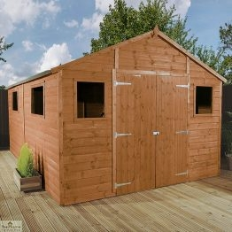 12 x 10 Apex Wooden Workshop Shed_1