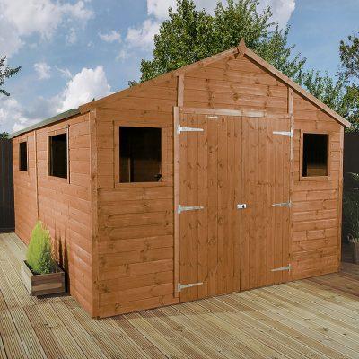 12 x 10 Apex Wooden Workshop Shed_1