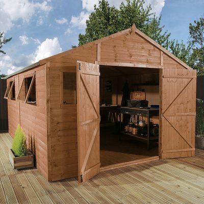 12 x 10 Apex Wooden Workshop Shed_2