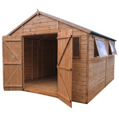 16 X 10 Apex Wooden Workshop Shed_7