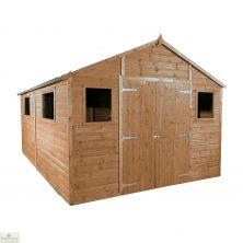 16 x 10 Apex Wooden Workshop Shed