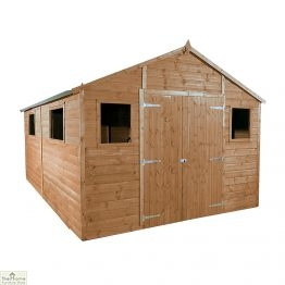 16 X 10 Apex Wooden Workshop Shed