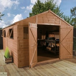 16 X 10 Apex Wooden Workshop Shed_1